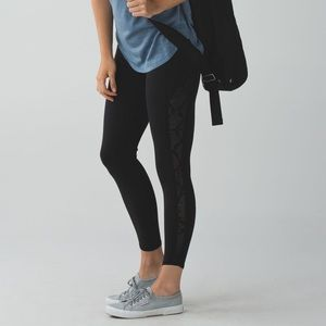 Rare lululemon beyond boundaries black pants